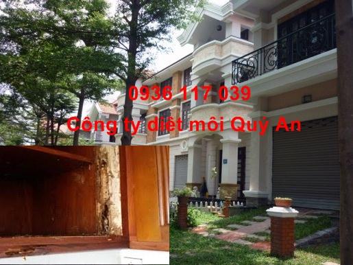 Diệt mối tận gốc tại khu biệt thự Quận 1 – Thành Phố Hồ Chí Minh.
