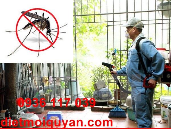 Phun thuốc diệt muỗi hiệu quả tại nhà ởquận 1