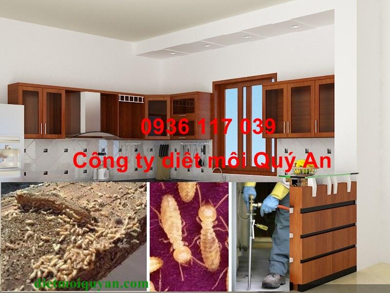 Diệt Mối Tận Gốc cho tủ bếp tại quận Tân Bình